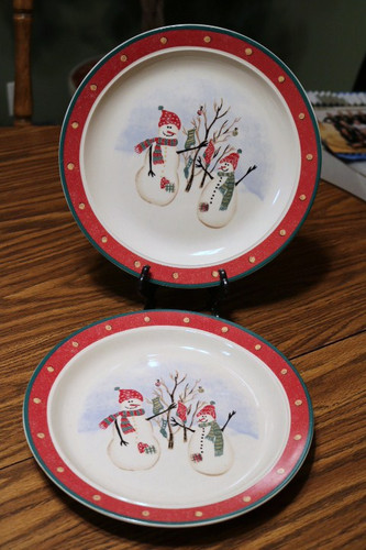 Royal Seasons Snowman RN2 Dinner Plate