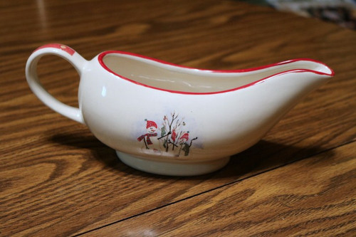 Royal Seasons Snowman RN2 Gravy Boat
