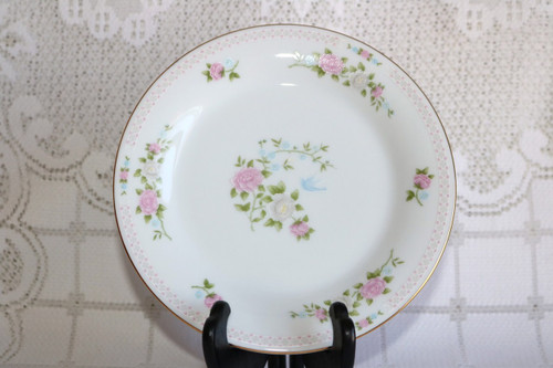 Crown Ming Fine China Bird of Paradise Salad Plate