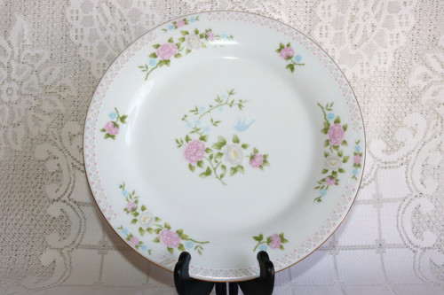 Crown Ming Fine China Bird of Paradise Dinner Plate