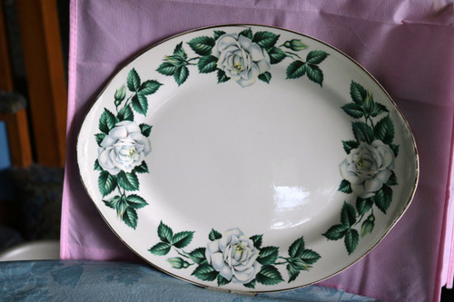Homer Laughlin Co Nassau Oval Serving Platter