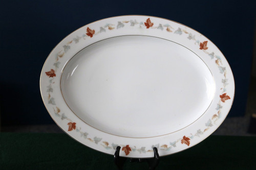 Yamaka China September Song Oval Serving Platter