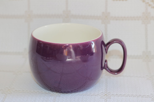 W.S. George Plaid - Cranberry Coffee Cup