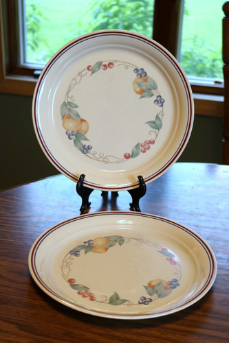 Corelle Corning Abundance Fruit Luncheon Plate