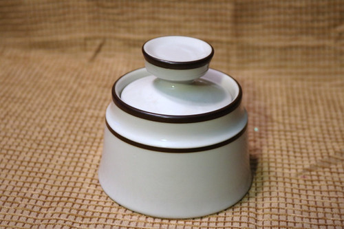 Noritake Tundra Sugar Bowl with Lid
