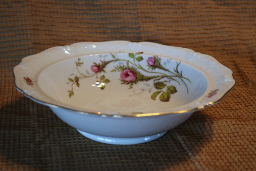 Round Vegetable Serving Serving Bowl - D0480