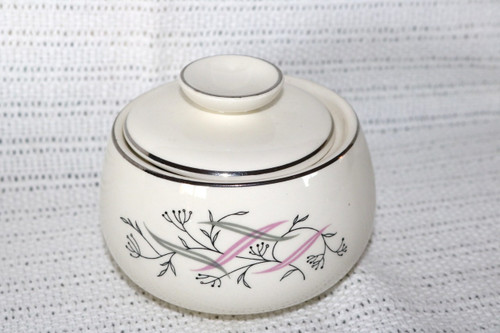 Homer Laughlin Co Allegro Sugar Bowl with Lid