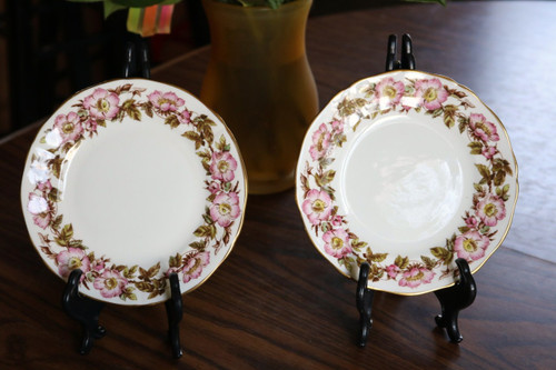 Adderley Bone China Briar Rose Bread & Butter Plate