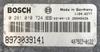 Bosch Engine ECU, Isuzu, 0281010724, 0 281 010 724, 8973039141, 407922-0122