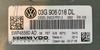 VW Touran 2.0TDi, 5WP45560AD, 5WP45560 AD, 03G906018DL, 03G 906 018 DL, PPD1.2
