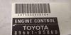 Toyota, 89661-05860, 2750009401S, 12V