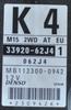 Suzuki Swift 1.3, 33920-62J4, MB112300-0942, K4