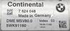 BMW, 7624048, 7 624 048, DME MSV80, 5WK91160, Index 03