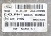 Delphi Engine ECU, Ford Focus 1.6, DCM3.5, BV41-12A650-AFD, BV4112A650AFD, 28324804, DCM3.5