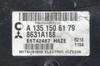 Mitsubishi Colt, E6T42487, 8631A188, H6ZE, A1351506179