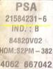 S2PM-382 9650825480 9642222380 21584231-6