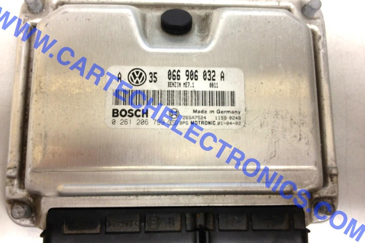 Plug & Play Engine ECU 0261206799 0 261 206 799 066906032A 066 906 032 A ME7.1