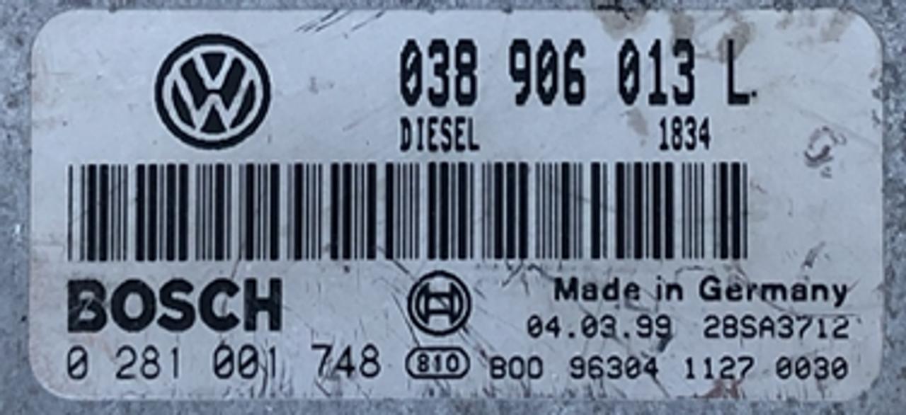 VW/Seat   0281001748  0 281 001 748  038906013L  038 906 013 L