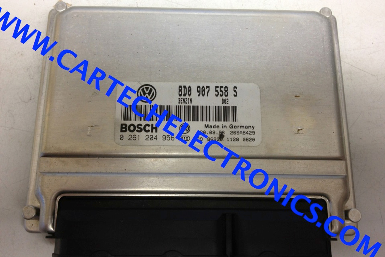 Plug & Play Engine ECU 0261204956 0 261 204 956 8D0907558S 8D0 907 558 S