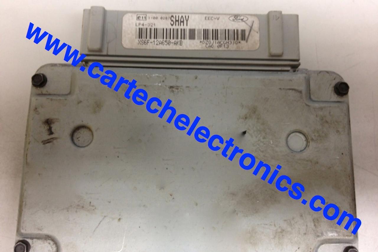 Plug & Play Visteon Engine ECU, XS6F-12A650-AKB, SHAY, LP4-321, EEC-V