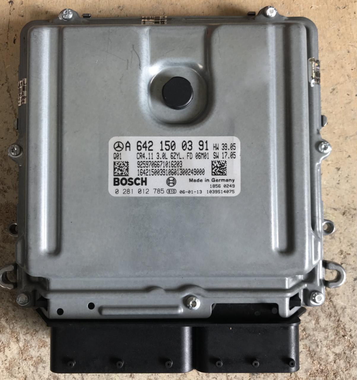 Plug Play Bosch Engine Ecu Mercedes Benz 0281012785 0 281 012 Product 785 A6421500391 A 642 150
