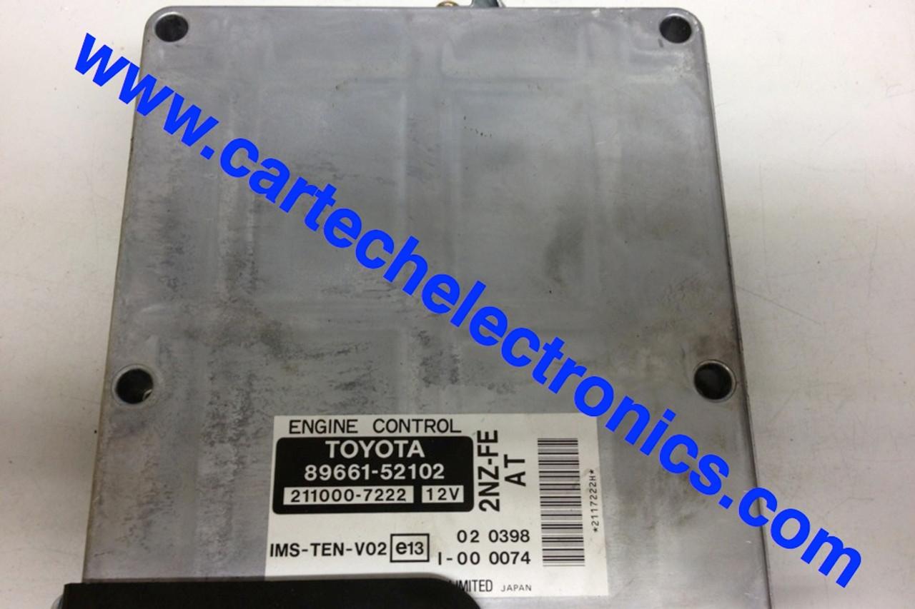 Plug & Play Toyota Engine ECU  89661-52102  211000-7222