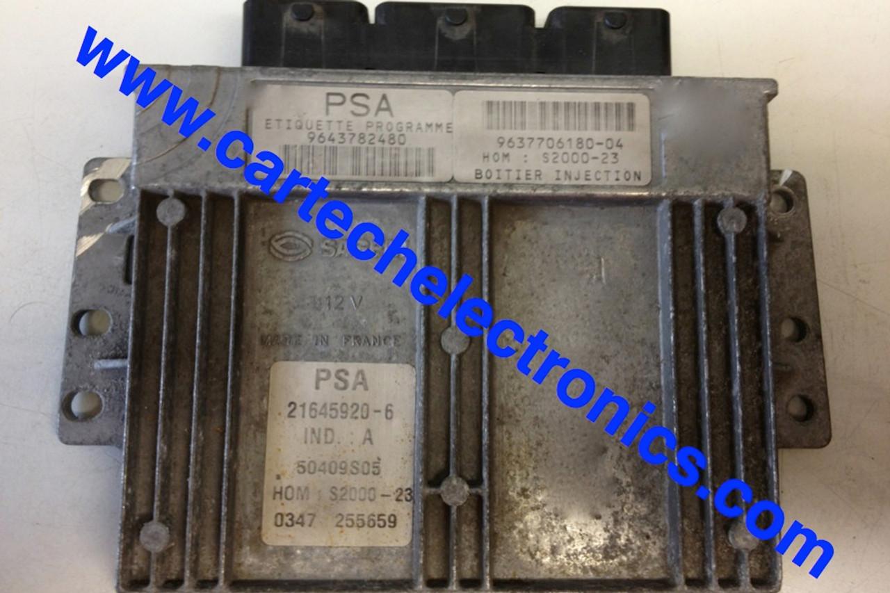 PSA S2000-23  9643782480  9637706180-04  21645920-6