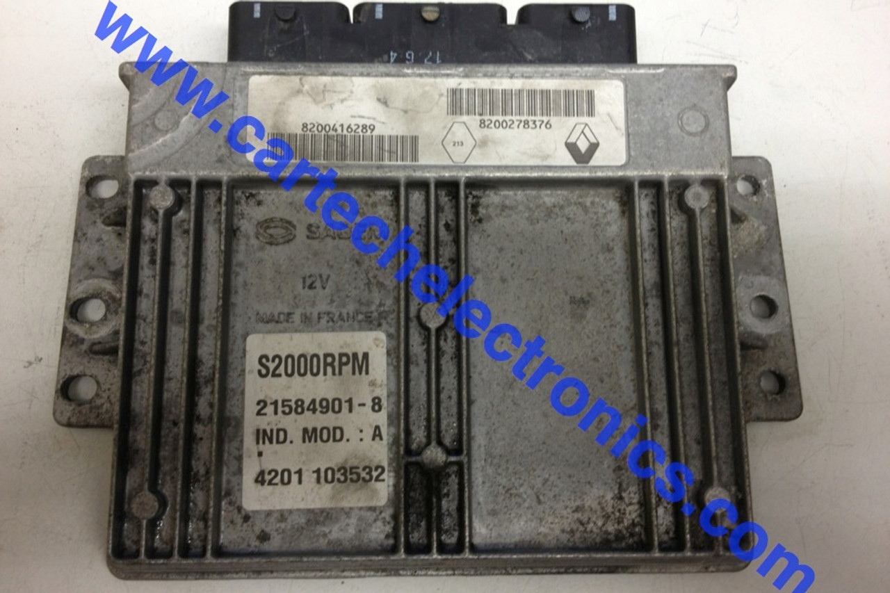 Plug & Play Renault Engine ECU S2000RPM 8200416289 8200278376 21584901-8