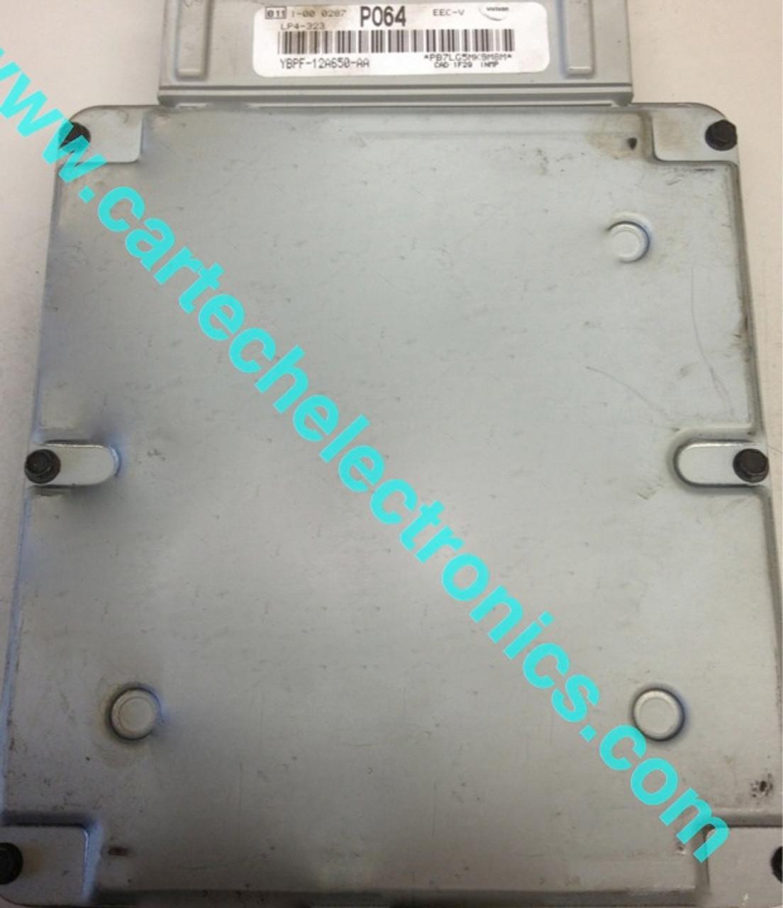 Plug & Play Visteon Engine ECU, YBPF-12A650-AA, P064, LP4-323, EEC-V