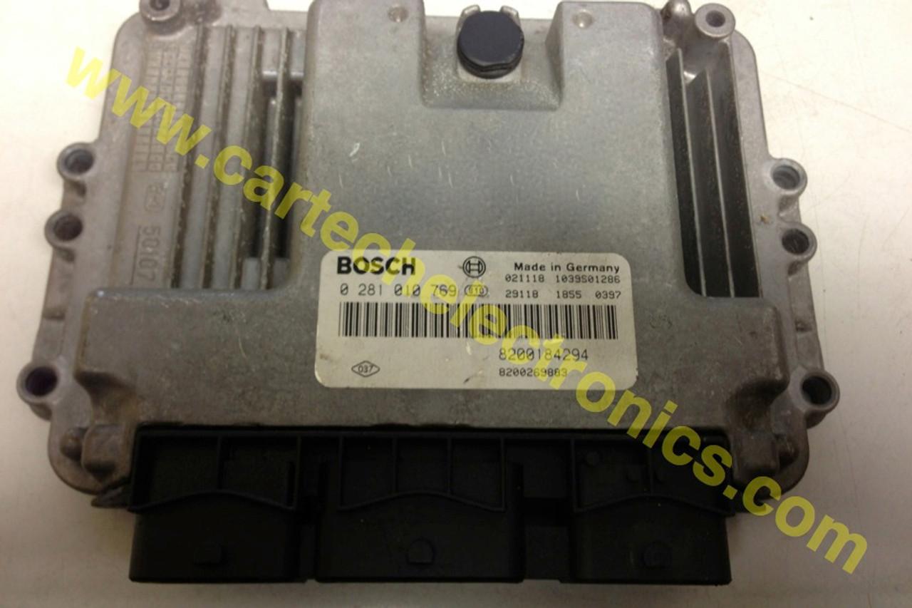 Plug & Play Bosch Renault Engine ECU, CDI, 0281010769, 0 281 010 769, 8200184294, 8200269883