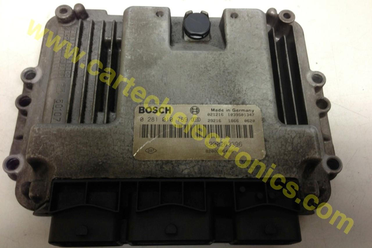 Plug & Play Renault Engine ECU 0281010769 0 281 010 769 8200263396 8200285406
