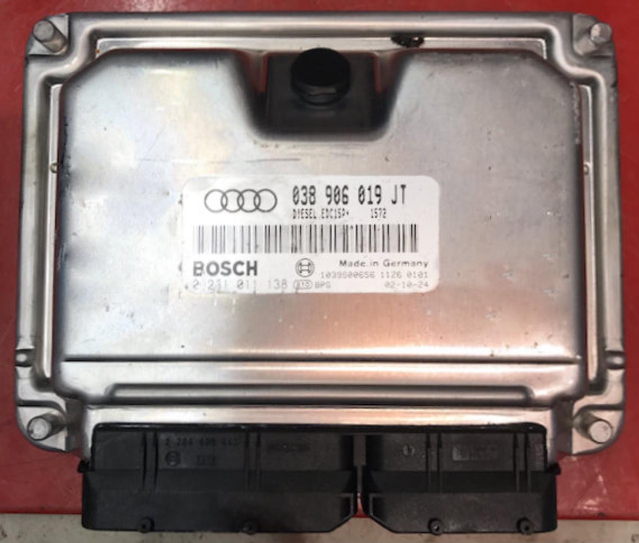 Audi, 0281011138, 0281 011 138, 038906019JT, 038 906 019 JT, EDC15P+