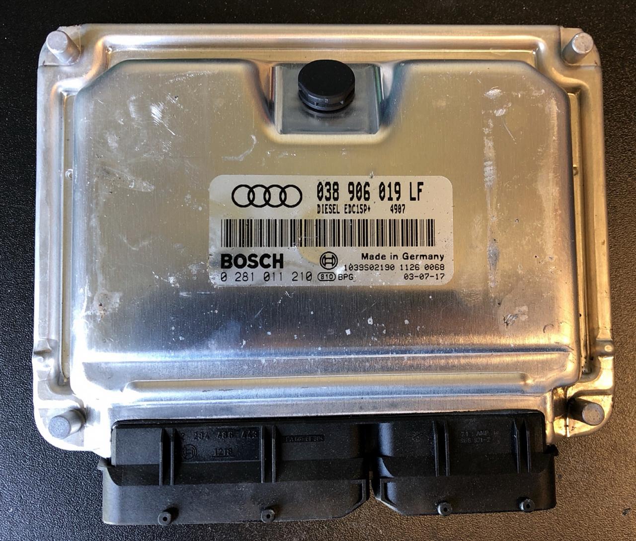 Audi, 0281011210, 0281 011 210, 038906019LF, 038 906 019 LF, EDC15P+