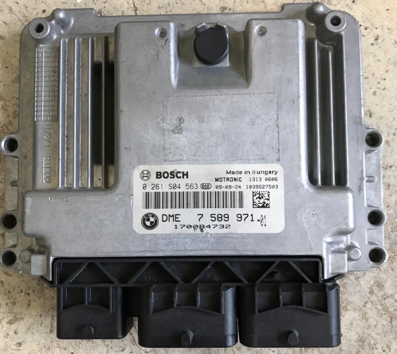 Plug & Play Bosch Engine ECU, Mini Cooper/One, 0261S04563, 0 261 S04 563,  DME7589971, DME 7 589 971