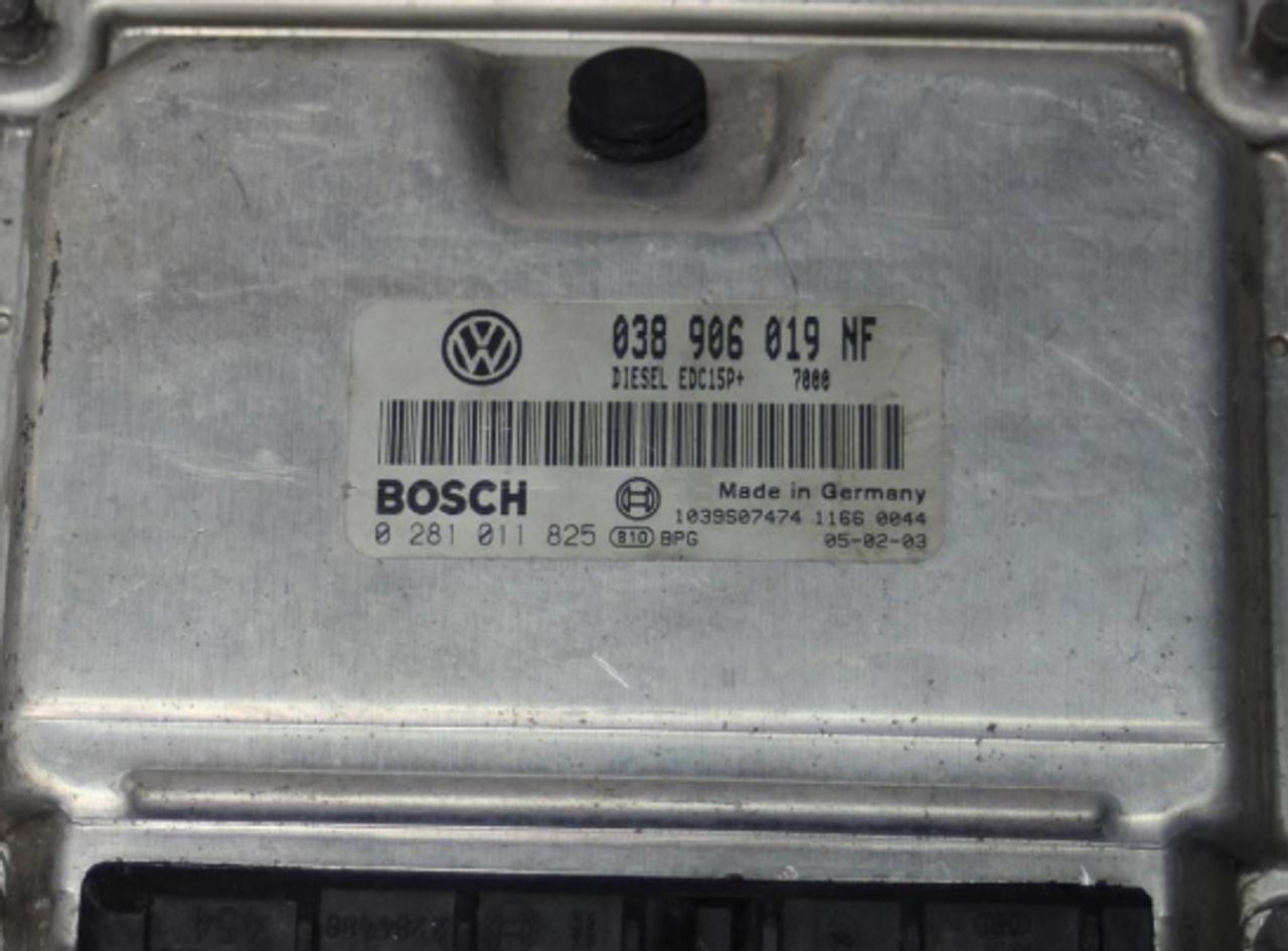 VW, 0281011825, 0281 011 825, 038906019NF, 038 906 019 NF, EDC15P+