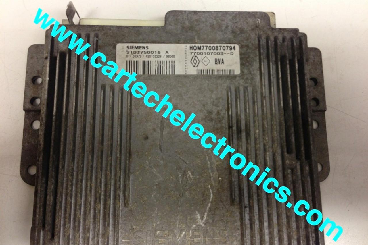 Plug & Play Renault Transmission ECU S103750016 A HOM7700870794 7700107003--D