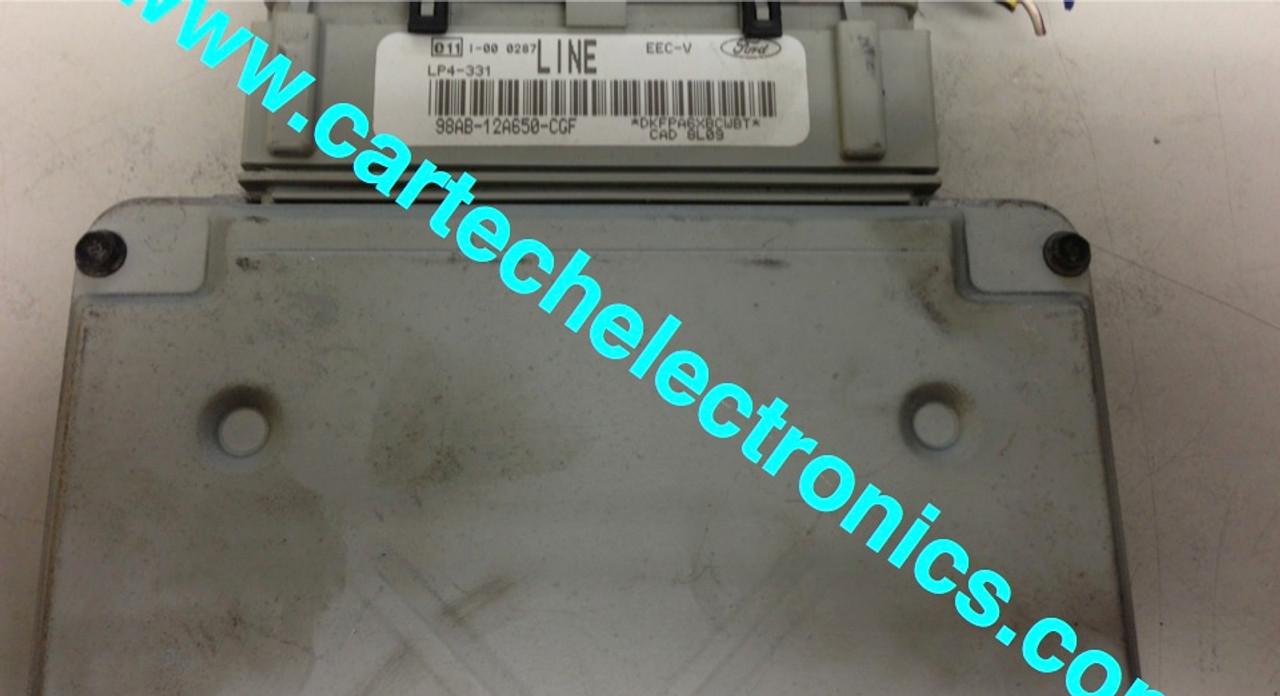 Plug & Play Visteon Engine ECU 98AB-12A650-CGF LINE LP4-331 EEC-V