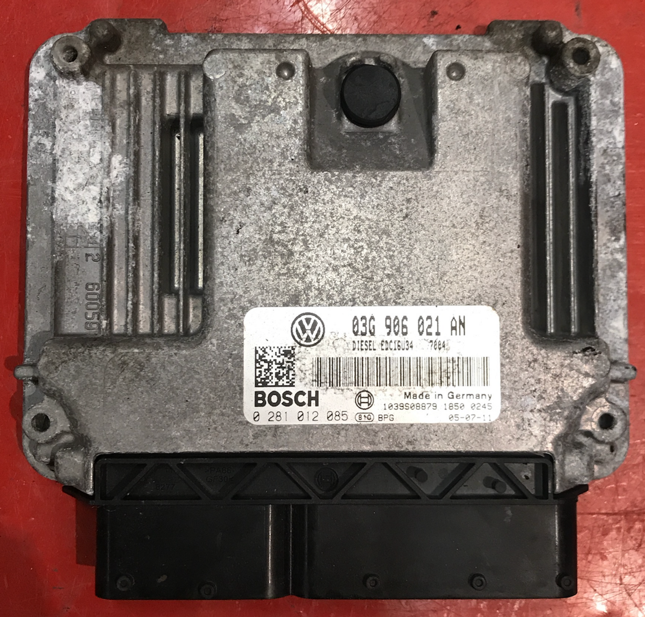 Plug & Play Bosch Engine ECU, VW Golf V / Jetta 1 9 TDI, 0281012085, 0 281  012 085, 03G906021AN, 03G 906 021 AN, EDC16U34