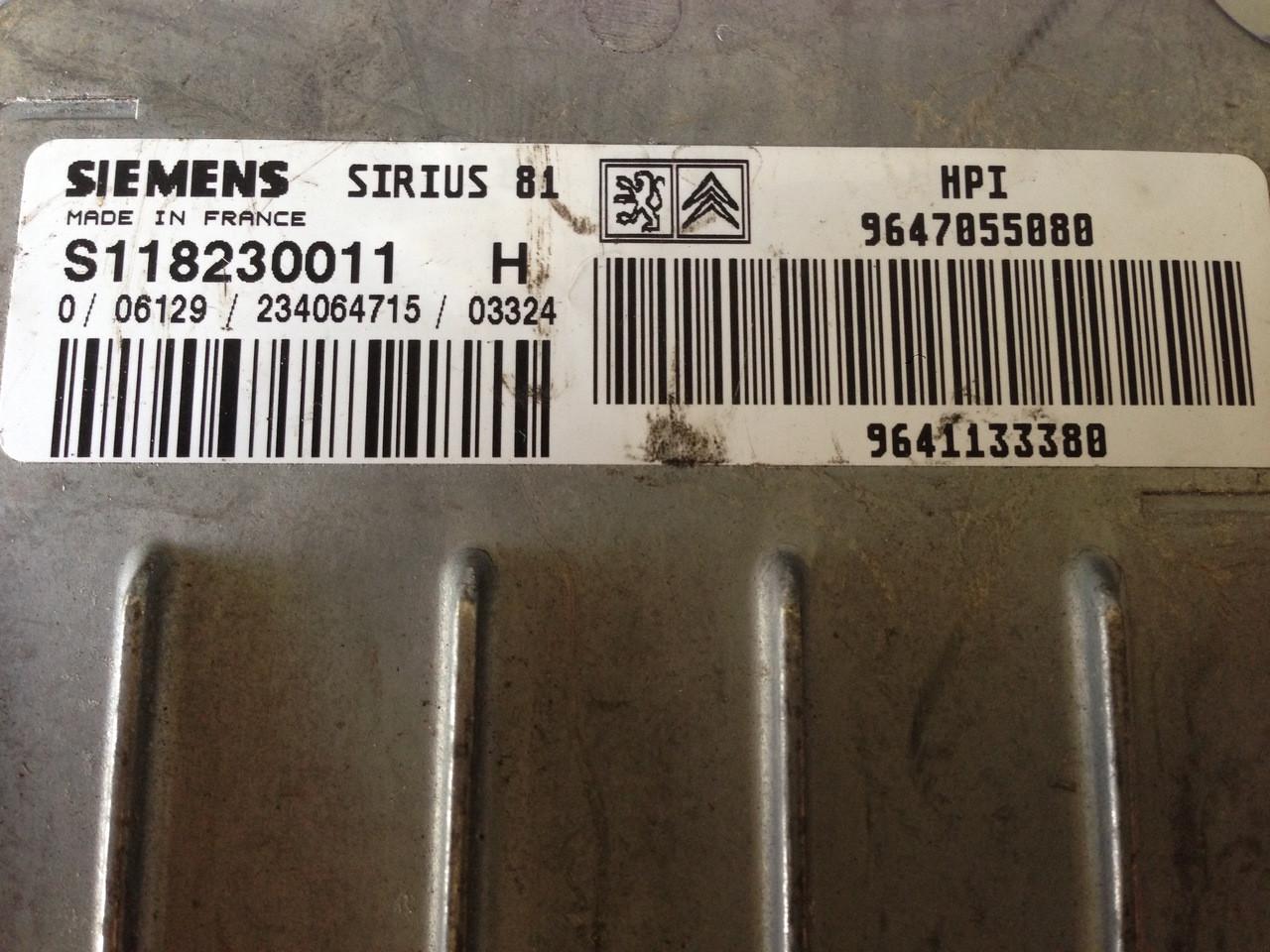 Siemens Ecu Pinout