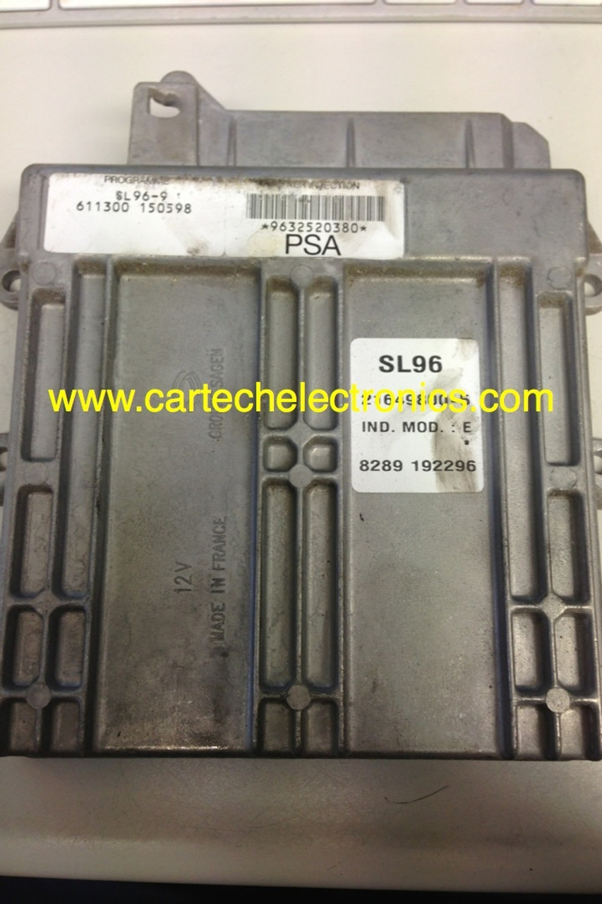 Plug & Play Unlocked ECU SL96-9 9632520280 9632520380 21649800-5