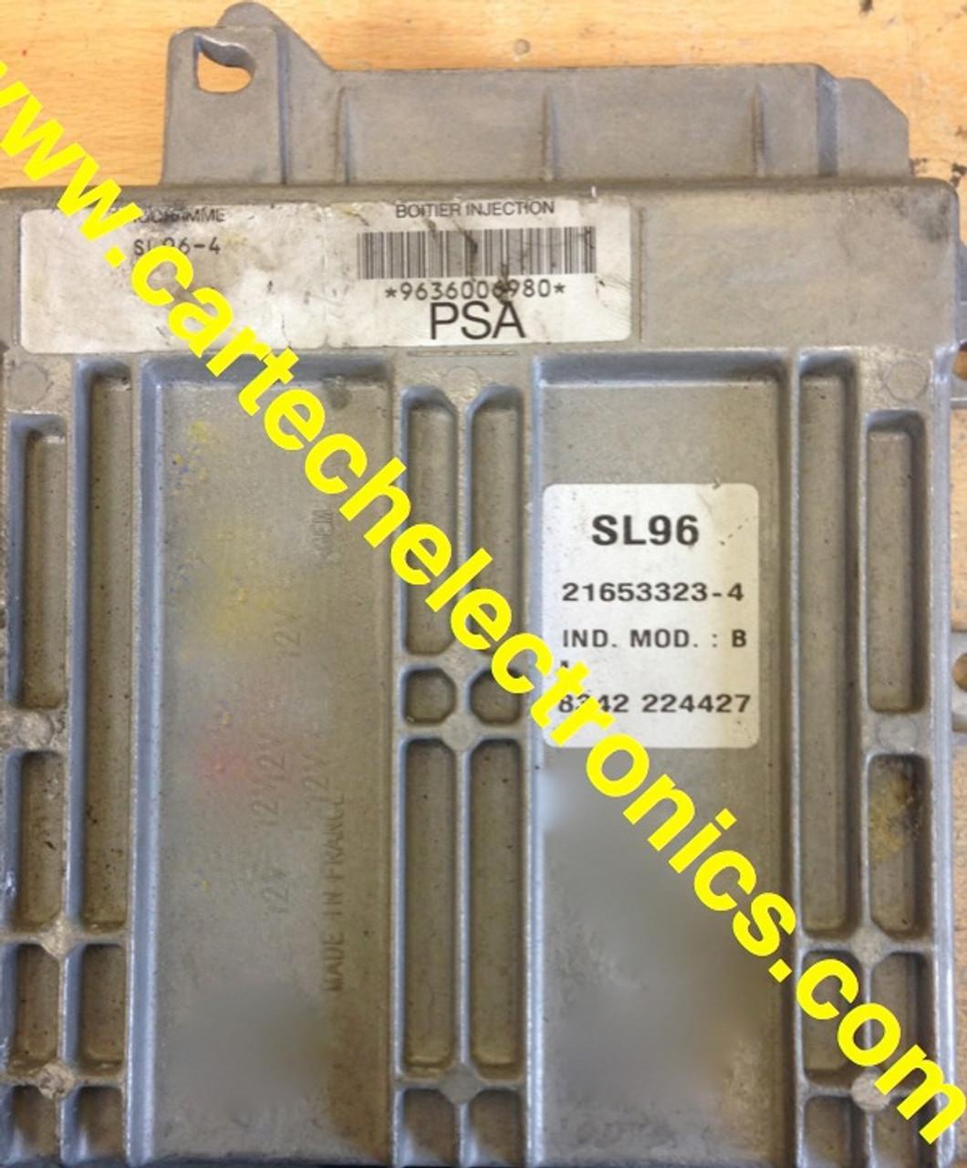 Plug & Play Unlocked ECU SL96-4 9636006980 21653323-4 PSA