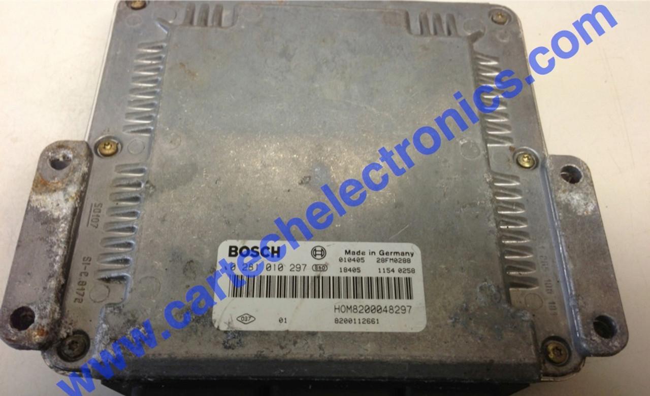 Plug & Play Renault Engine ECU 1.9 DCi, 0281010297, 0 281 010 297, HOM8200048297