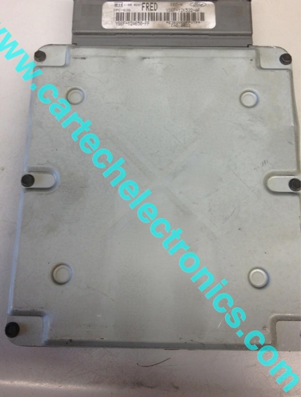 Plug & Play Visteon Engine ECU, YS6F-12A650-FH, HOBO, DPC-638, EEC-V