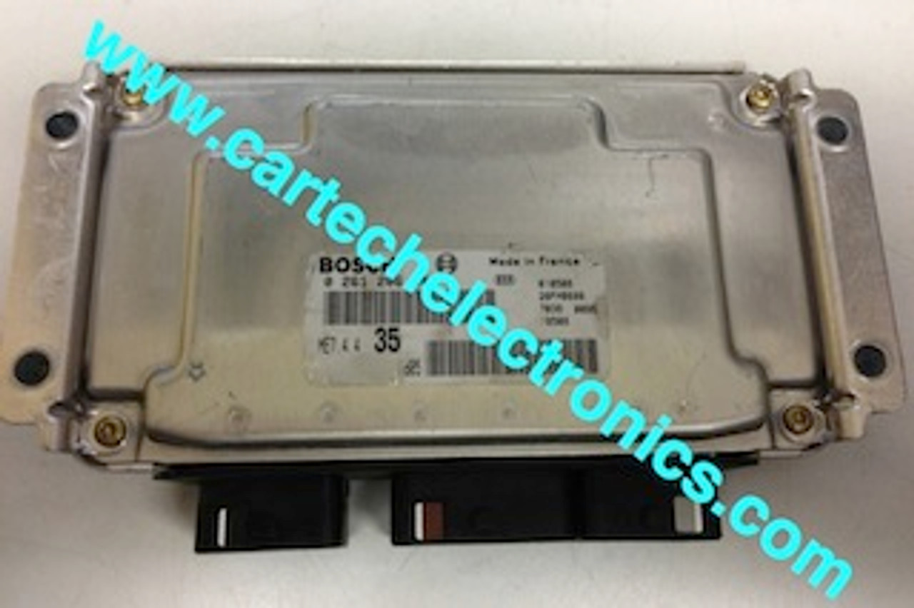 Plug & Play Bosch Engine ECU, 0261206944, 0 261 206 944, 9648024980,  96 480 249 80, ME7.4.4