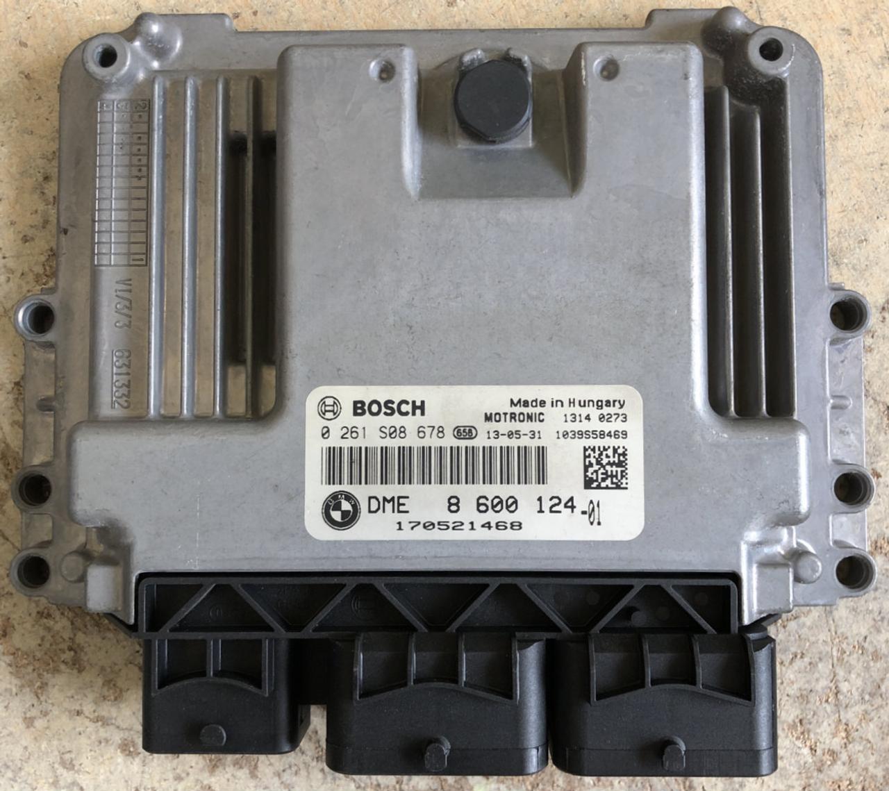 Plug & Play Bosch Engine ECU, Mini Cooper, 0261S08678, 0 261 S08 678,  DME8600124, DME 8 600 124