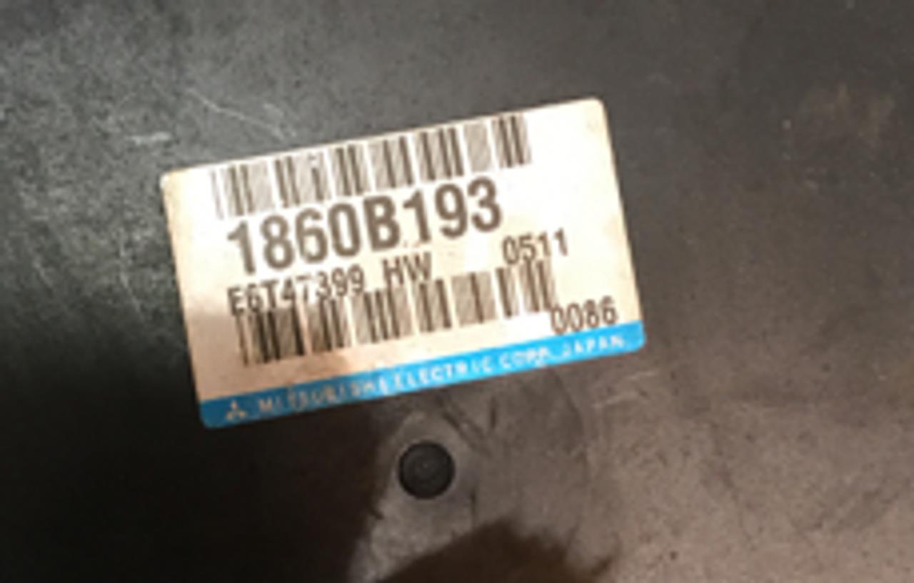 E6T47399, F16637, 1860B193