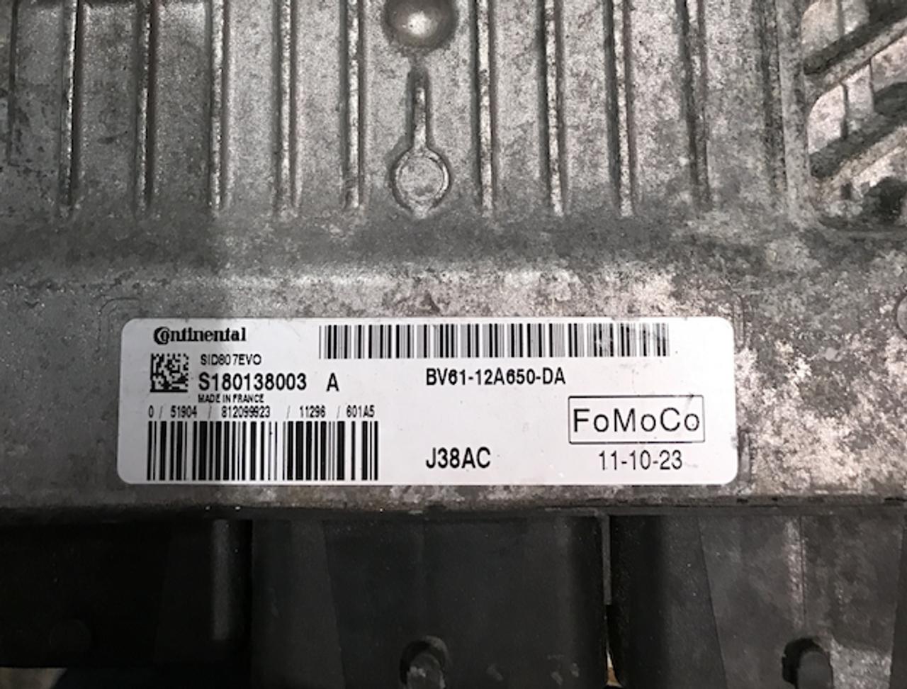 SID807EVO, J38AC, S180138003 A, BV61-12A650-DA, BV61-12A650DA