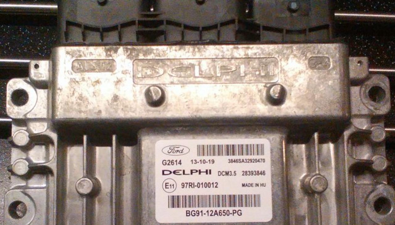 Ford Diesel, BG91-12A650-PG, 28393846, DCM3.5