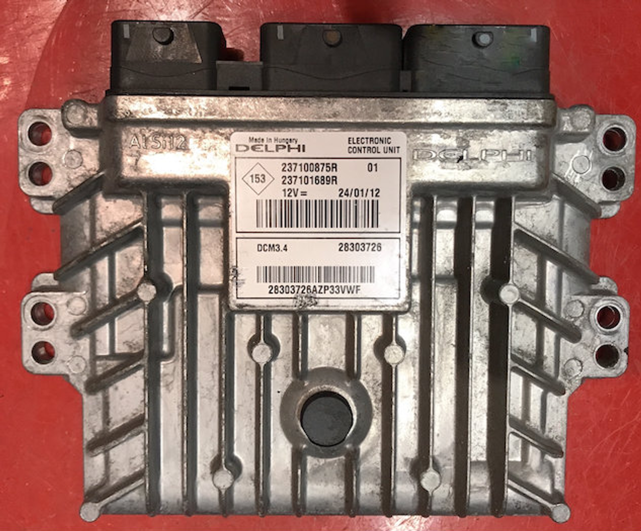 Locked Delphi Engine ECU, Nissan NV200, 237100875R, 237101689R, 28303726,  DCM3 4