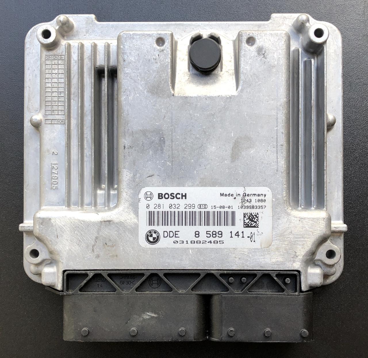 Plug & Play Bosch Engine ECU, BMW/Mini, 0281032299, 0 281 032 299,  DDE8589141, DDE 8 589 141